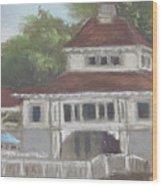 The Pavilion At Lakeside Ohio Wood Print
