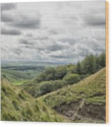 The Peak District Wood Print