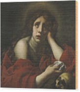 The Penitent Mary Magdalene Wood Print