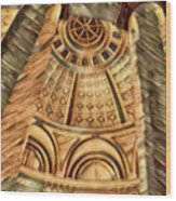 The Poles Wood Print