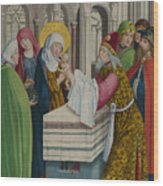 The Presentation In The Temple Wood Print
