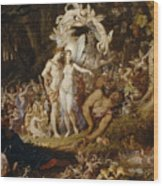 The Reconciliation Of Oberon And Titania Wood Print