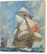The Santa Maria Wood Print