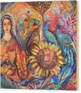 The Shabbat Queen Wood Print
