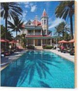 The Southernmost House Wood Print