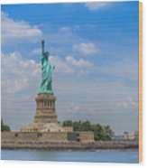 The Statue Of Liberty In New York City Wood Print