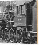 The Steam Engine  Wood Print