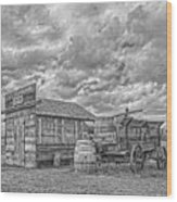 The Sutler's Store Wood Print