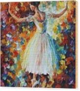 The Symphony Of Dance Wood Print