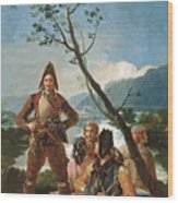 The Tobacco Guards Wood Print