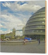 The Towers Of London Wood Print
