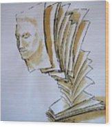 Theory Wood Print by Paulo Zerbato