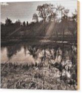 Thornton Reservoir, Leicestershire Wood Print