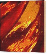 Through A Glass Darkly 1 Abstract Wood Print