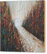 Through The Storm Wood Print