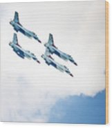 Thunderbirds Dive Wood Print