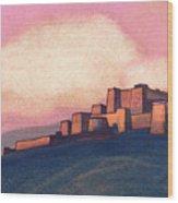 Tibetan Fortress Wood Print