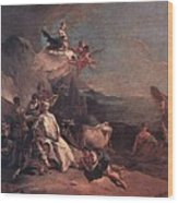 Tiepolo The Rape Of Europa Giovanni Battista Tiepolo Wood Print