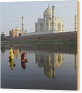 Timeless Taj Mahal Wood Print