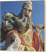 Tin Hua Temple Wood Print