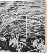 Titanic: Lifeboats, 1912 Wood Print