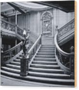 Titanic's Grand Staircase Wood Print