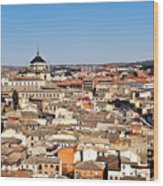 Toledo Spain Wood Print