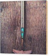 Tools On Wood 50 Wood Print
