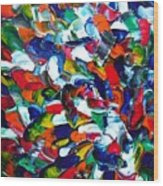 1 Toucan 2 Toucan 3 Toucan Wood Print