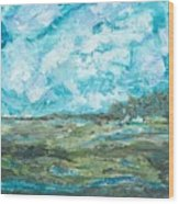 Toward Pinckney Island Wood Print