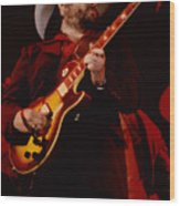 Toy Caldwell Of Themarshall Tucker Band At The Cow Palace Wood Print
