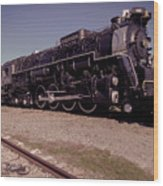 Train Engine #2732 Wood Print