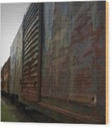 Trains 12 Vign Wood Print