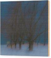 Tree Dreams Wood Print