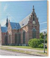 Trinity Church In Kristianstad Wood Print