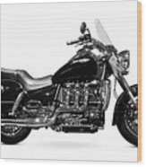 Triumph Rocket IIi Motorcycle Wood Print