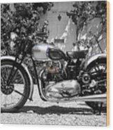 Triumph Tiger 100 1939 Wood Print