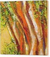 Troncos Wood Print