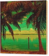 Tropic Nite Wood Print