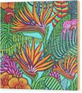 Tropical Gems Wood Print
