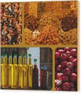 Turkish Delights Wood Print