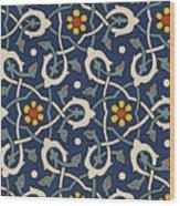 Turkish Textile Pattern Wood Print