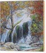 Turner Falls Oklahoma Wood Print