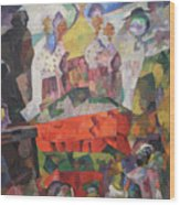 Tverskoy Boulevard Wood Print