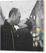 Ula And Wojtek Engagement 8 Wood Print