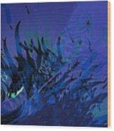 Underwater Wood Print