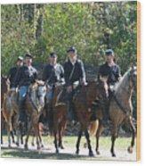 Union Cavalry Wood Print