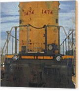 Union Pacific 1474 Wood Print