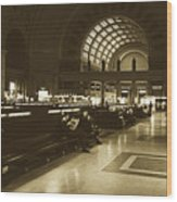 Union Station, Washington Dc 1963 Wood Print