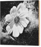 Universal Floral Wood Print